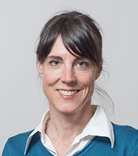 Sozialdiakonin Claudia Albertin
